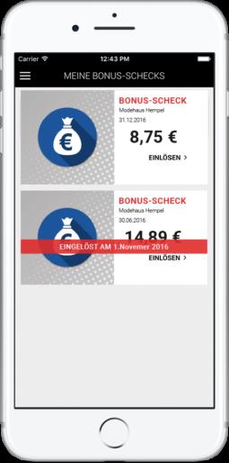 Bonus-Schecks